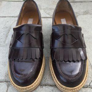 See by Chloe Burgandy Tassled Loafers 🌟